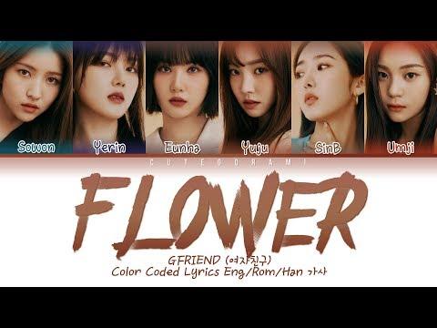 GFRIEND (여자친구) - Flower (Korean Version) (Color Coded Lyrics Eng/Rom/Han 가사)