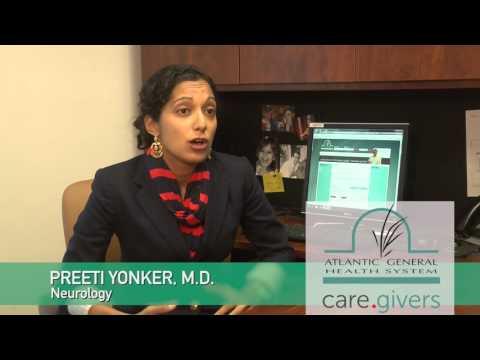 Meet Dr. Preeti Yonker - Atlantic General Neurology