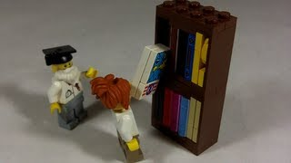 How To Build: Lego Bookshelf
