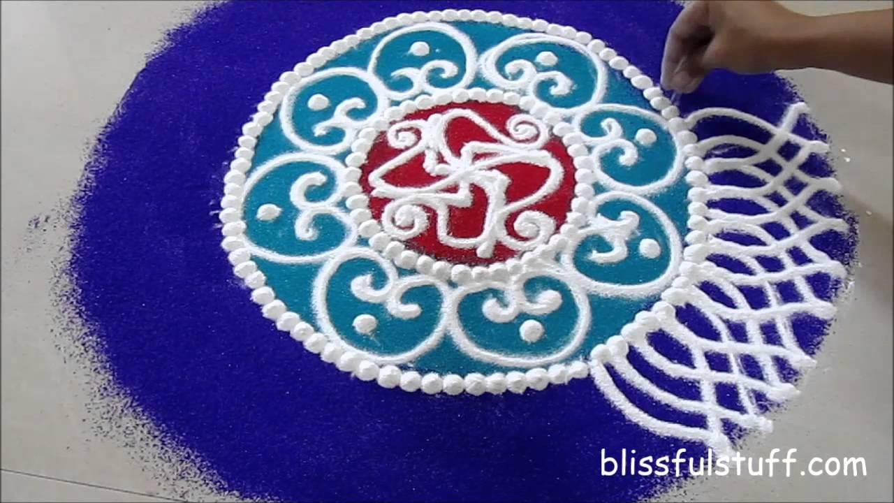 Diwali Special Sanskar Bharati Rangoli Design How To Draw Sanskar Bharati Rangoli I Youtube