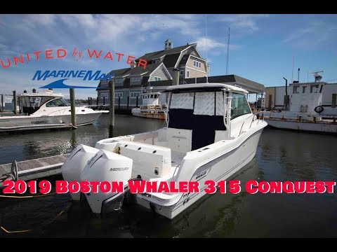 In-Depth Look at The 2019 Boston Whaler 315 Conquest