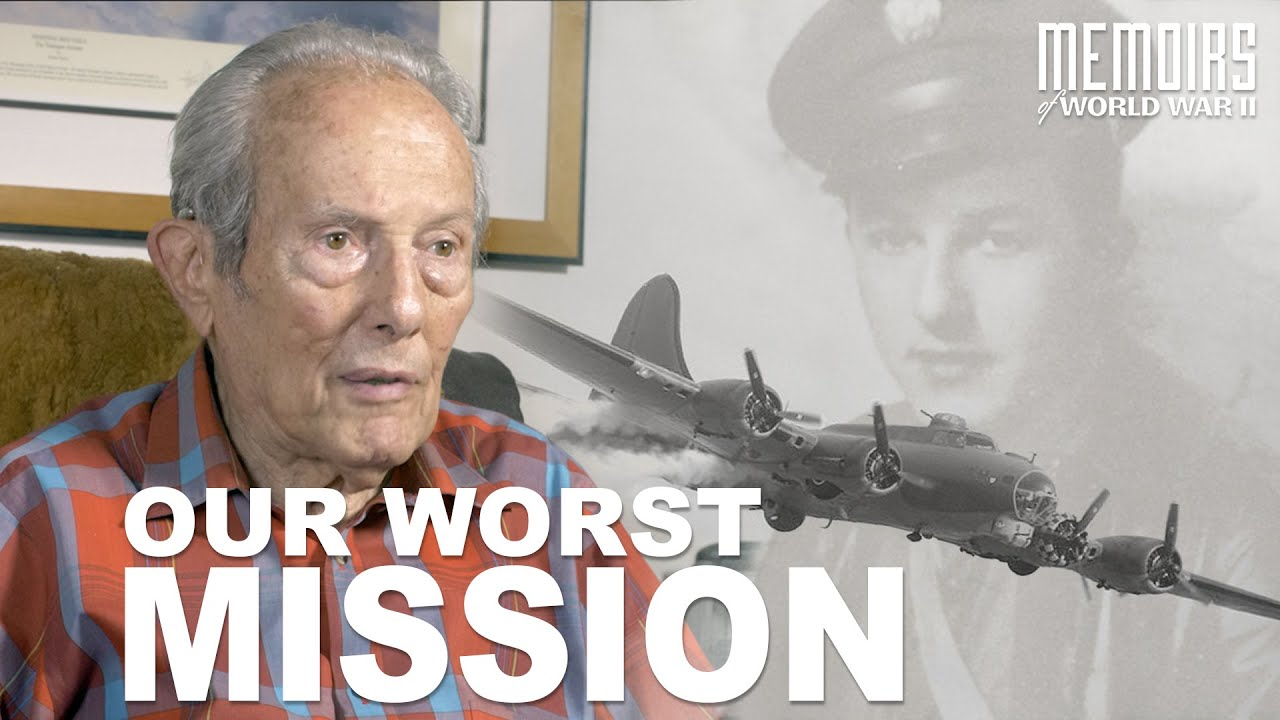 """""""Our Worst Mission"""" WW2 Bomber Gunner   Memoirs Of WWII #24"""