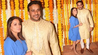 Anita Hassanandani And Rohit Reddy At Ekta Kapoor Son Naamkaran Ceremony