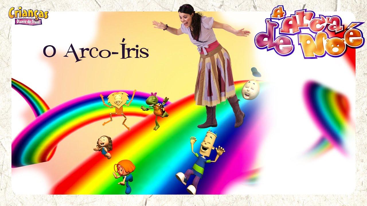 O Arco-Íris - Crianças Diante do Trono
