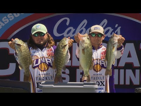 2017 Cabela's Collegiate Bass Fishing Championship Presented by Cabela's - Part 1