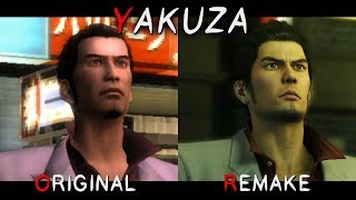 Yakuza Kiwami - Original vs Remake Comparison
