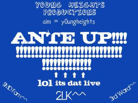new 2lk song 'Ante Up!!!!'