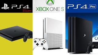 ¿Qué consola comprar? 2016 - PS4 Pro vs Xbox One S vs PS4 Slim (ft. Scorpio)
