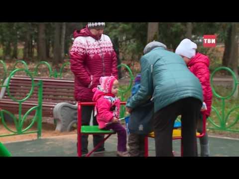 Новая детская площадка в Дедовске