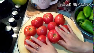 """Долма """"Три сестры""""Азербайджанская кухня#Uc baci dolmasi"""