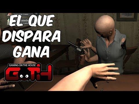 DISPARA USTE O DISPARO YO?! Hand Simulator en Español - GOTH