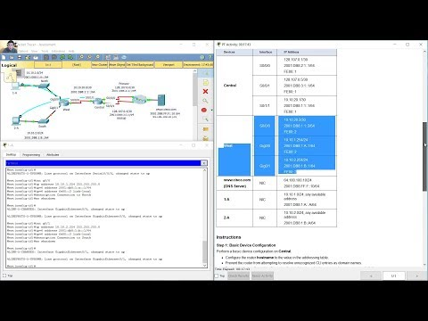 Routing and Switching Essentials Chapter 2 Practice Skills Assessment