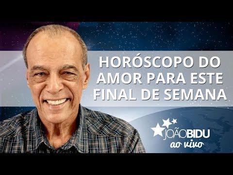 Horóscopo do amor para este final de semana! - João Bidu ao vivo (10/08/2017)