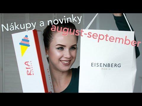 Nákupy a novinky: august a september 2017