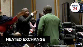 WATCH   Julius Malema to Pan-African Parliament member: 'I'll kill you outside'