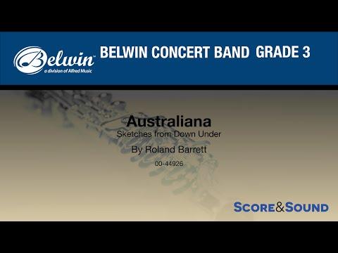 Australiana  Roland Barrett – Score & Sound