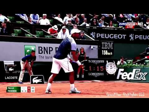Roger Federer   Top 10 Pure Magical Skills HD