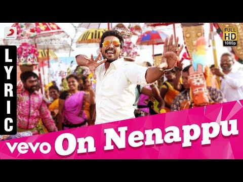Kathanayagan - On Nenappu Lyric | Vishnu Vishal | Sean Roldan | Anirudh