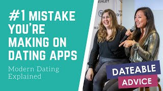 [DATING ADVICE] What's the #1 mistake you're making on dating apps?
