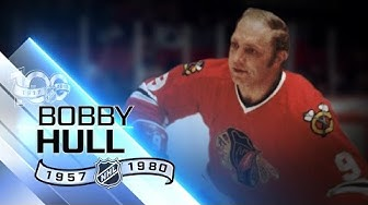 Bobby Hull used slap shot to win three scoring titles