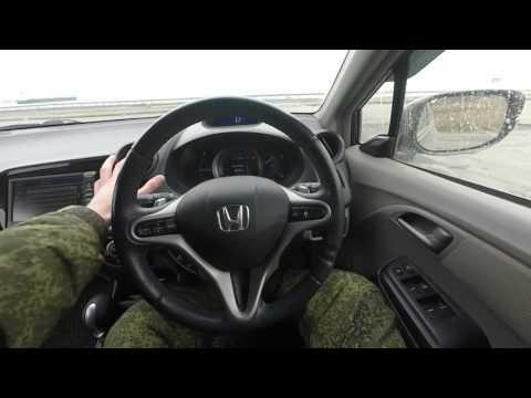 Honda Insight 2010 Знакомство (обзор) ч.1