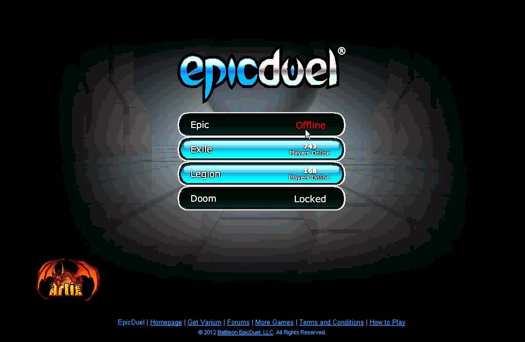 epicduel private server