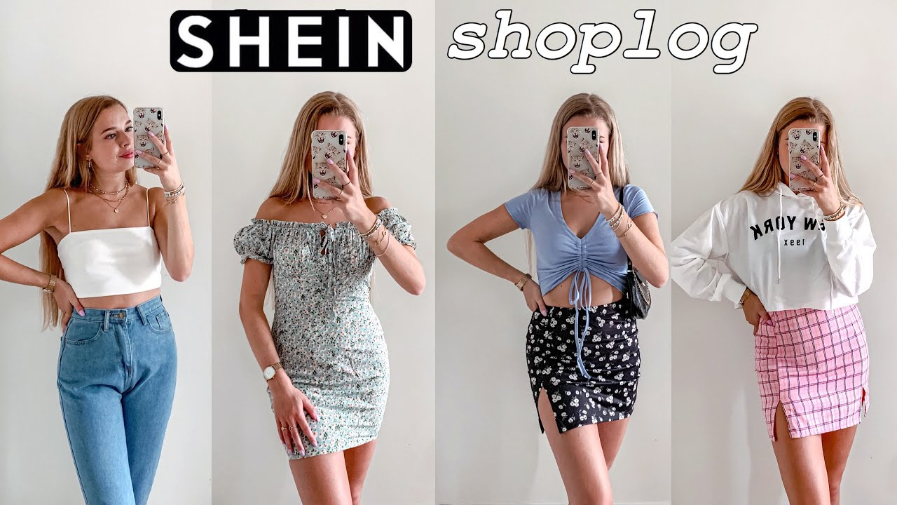 Mega zomer SHEIN shoplog + try on & review ♡