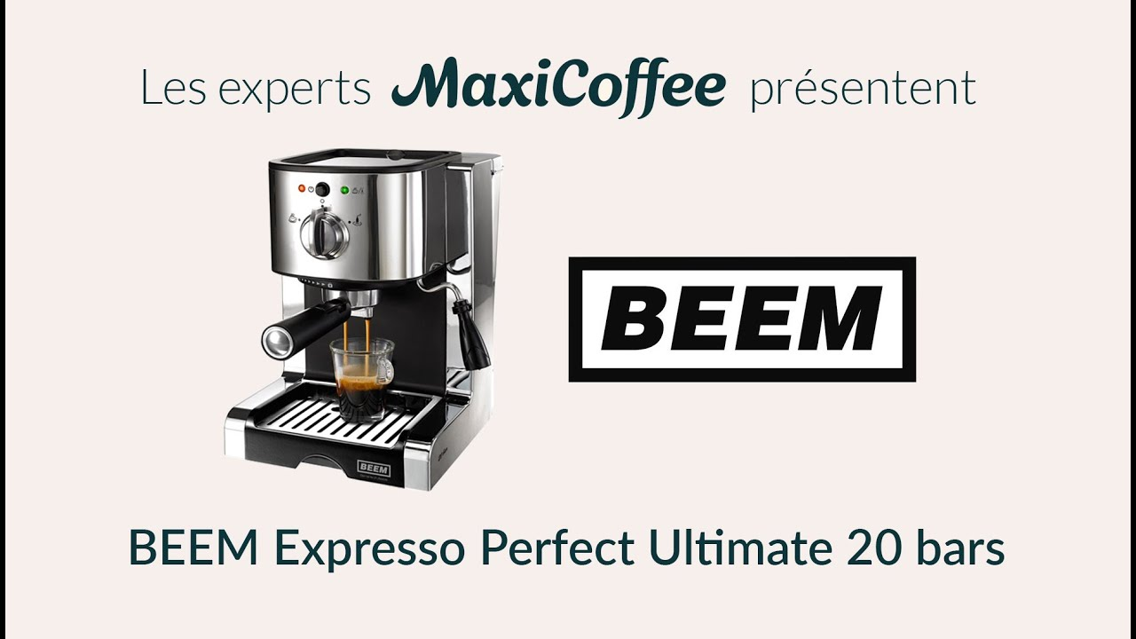 Beem Expresso Perfect Ultimate 20 Bars Machine Expresso