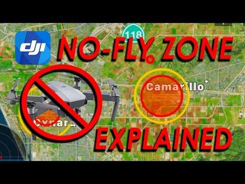 DJI No Fly Zone EXPLAINED - Mavic Pro / Platinum | Phantom | Spark