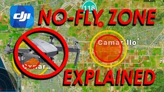 DJI No Fly Zone EXPLAINED - Mavic Pro / Platinum / Air / Phantom / Spark