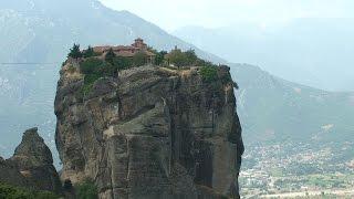 Niezwykly Swiat - Grecja - Meteory - Klasztor Św Trójcy