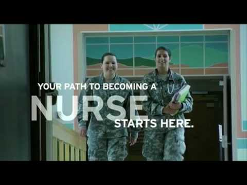 Army ROTC Nurse Program (1 minute)