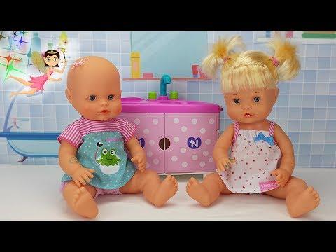 Alicia Inhibir Cien años  Nenuco Hermanitas Traviesas | Bebés Muñecas | Videos de Nenucos - YouTube