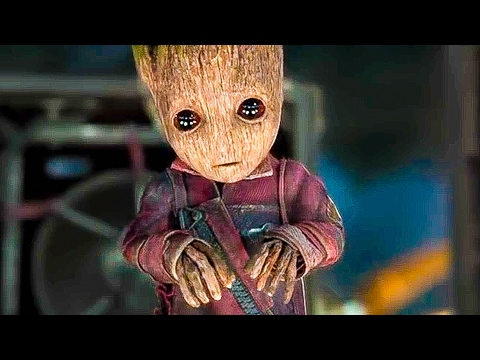 Guardians of the Galaxy 2 'BABY GROOT' Best Movie Clips + Trailer (2017)