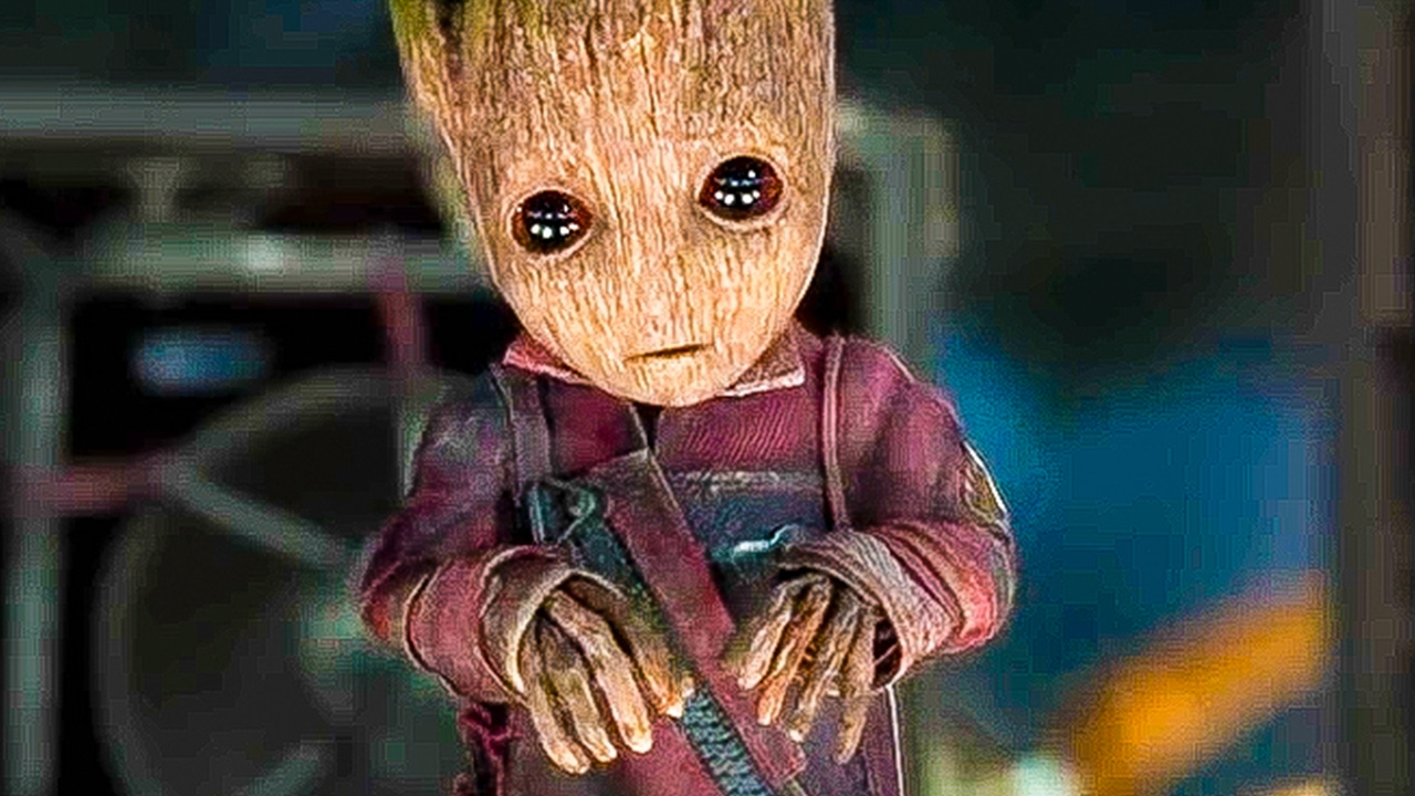 Guardians Of The Galaxy  Baby Groot Best Movie Clips Trailer