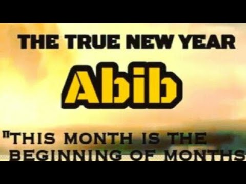 The New Year, Abib 2019-2020: Enoch Confirms The Date, Israelites & Gentiles