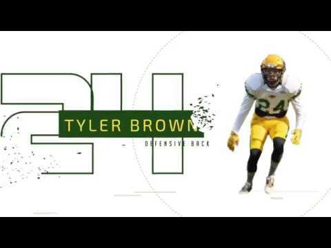 Tyler Brown 2019 Football Highlight Video