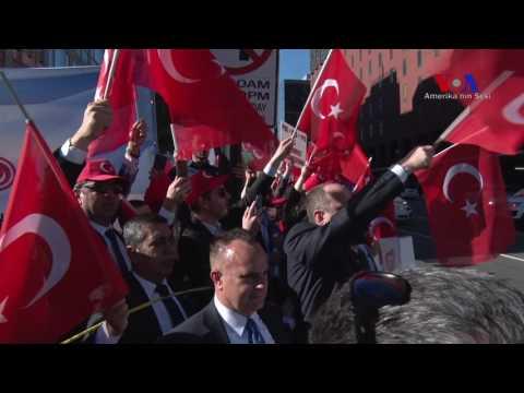 Cumhrubaşkanı Erdoğan Washington'a Geldi