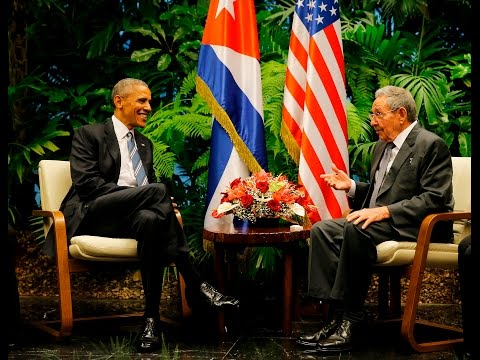 LIVE: Raúl Castro officially welcomes Obama to Cuba