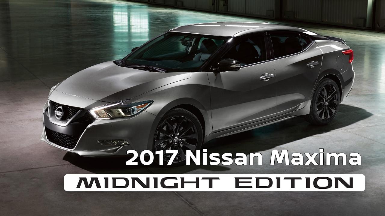 2017 Nissan Maxima Midnight Edition Youtube
