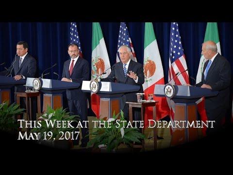 This Week at State: May 19, 2017