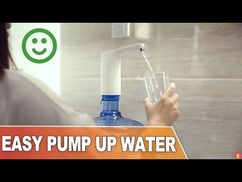 THE EASIEST WAY Pump Up Water From Large Or Big Bottle|Buy at Banggood