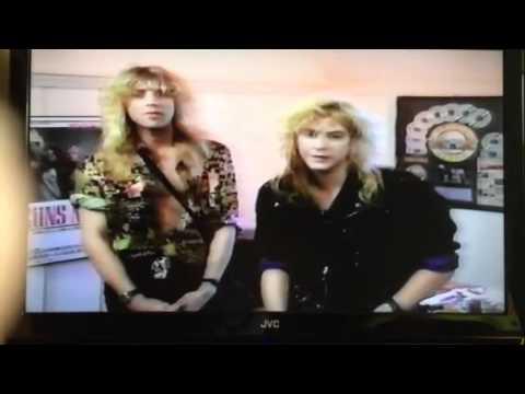 Gun N Roses Duff Mckagan & Steven Adler