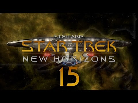 Stellaris Star Trek #15 STAR TREK NEW HORIZONS MOD - Gameplay / Let's Play