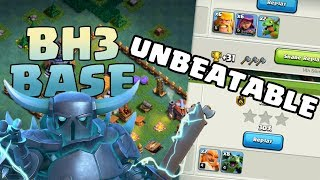CLASH OF CLANS | BH3 UNBEATABLE BASE | Best BUILDER'S HALL 3 Base | 2018 |