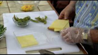 Qscene Bbq Tv Bbq Ahi Tuna Melt With Wild Rice Salad