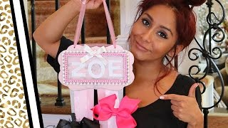Snooki's DIY Ribbon Holder: Best Baby Shower Gift Ever!