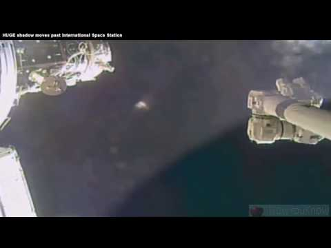 Huge Alien Mothership Floats Past ISS In Remarkable NASA Footage