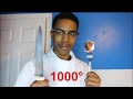 Cutting A Knife With A 1000 Degree MARSHMELLOW mp3