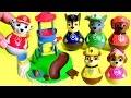 Paw Patrol Weebles Pull Play Seal Island Playset Marshall Rocky Chase Skye Wobble Disney Toys